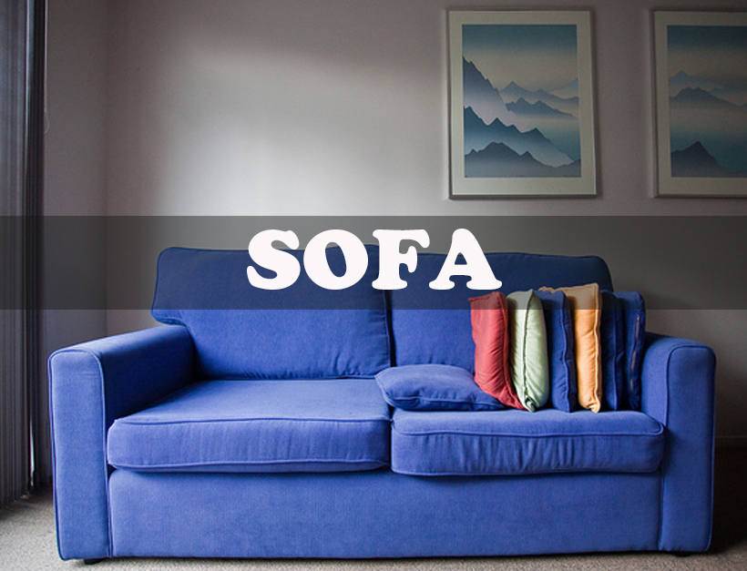 ソファの張替え